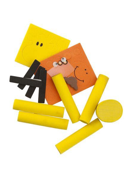 foam puzzel giraffe - 15990103 - HEMA