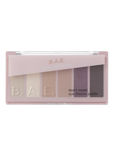 B.A.E. eye shadow palette 01 don't miss - 17700032 - HEMA