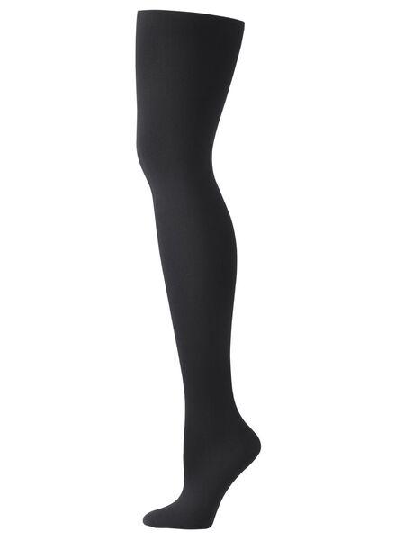 panty 60 denier zwart zwart - 1000001111 - HEMA