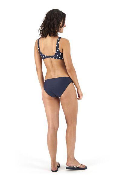 dames padded bikinitop blauw blauw - 1000017935 - HEMA