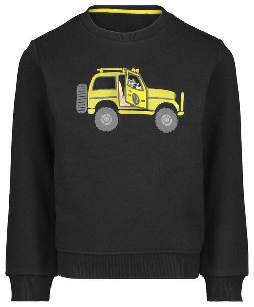kindersweater jeep zwart zwart - 1000021257 - HEMA