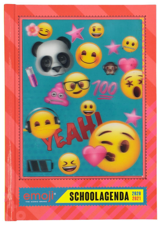 HEMA Schoolagenda Emoji Girls 2020-2021