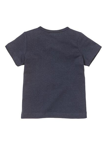 baby t-shirt donkerblauw donkerblauw - 1000008674 - HEMA
