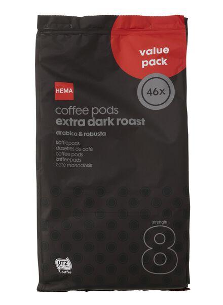 koffiepads extra dark roast - 17100026 - HEMA