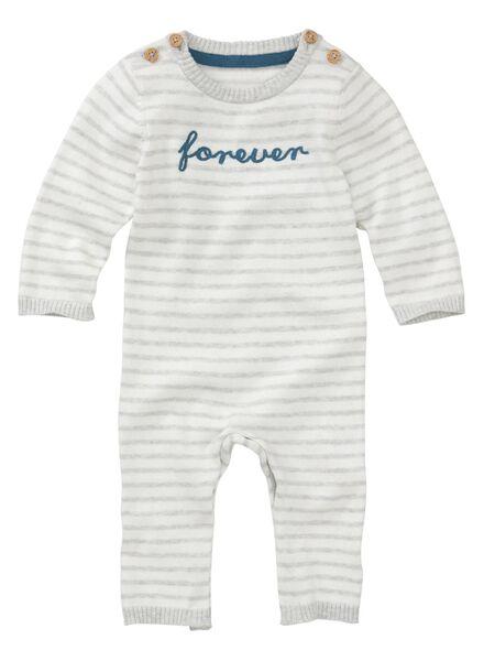 newborn jumpsuit gebroken wit gebroken wit - 1000011972 - HEMA