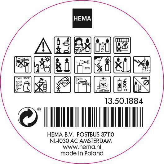 stompkaarsen goud - 1000015630 - HEMA