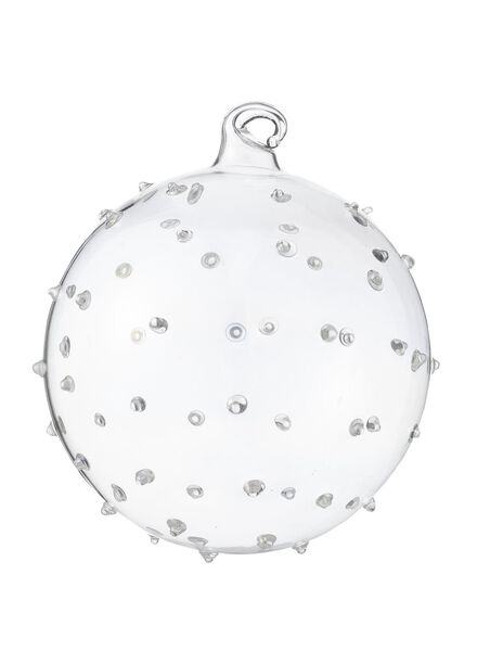 glazen kerstbal - 25100769 - HEMA