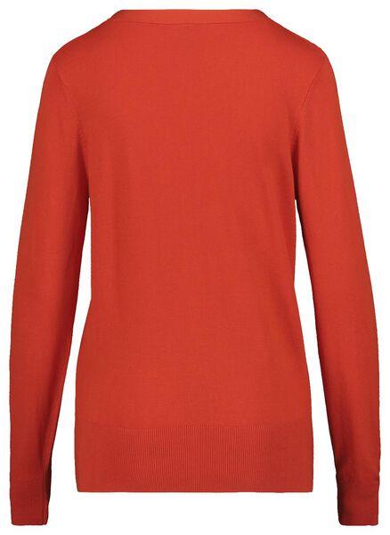 damesvest rood rood - 1000019284 - HEMA