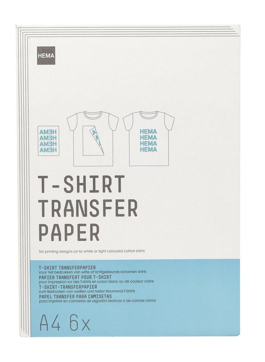 t-shirt transferpapier - HEMA