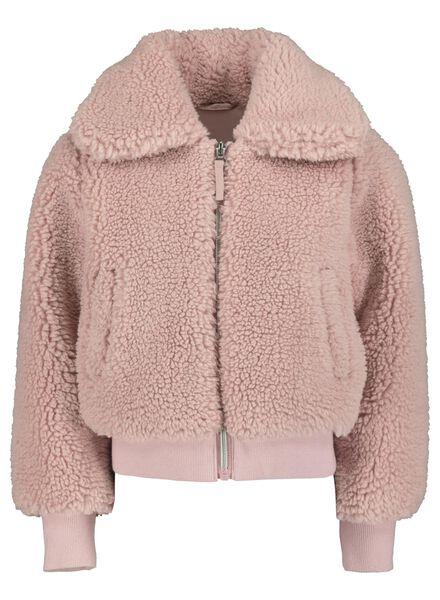 kinderjas roze roze - 1000015606 - HEMA