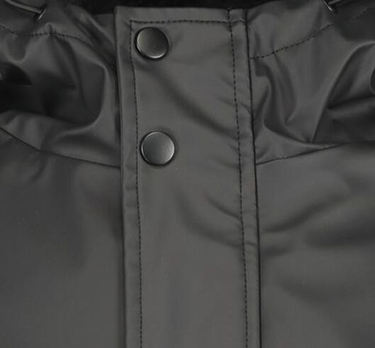 herenjas met capuchon zwart - 1000020767 - HEMA