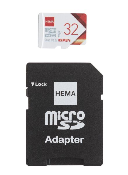 micro SD geheugenkaart 32GB - 39520011 - HEMA