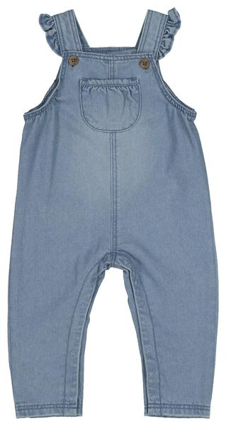 baby jumpsuit denim denim - 1000022330 - HEMA