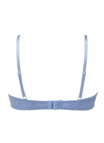 padded bh A-D blauw blauw - 1000002531 - HEMA