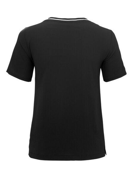 dames top zwart zwart - 1000011592 - HEMA