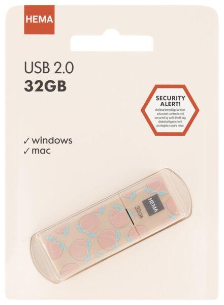 USB-stick 32GB - perzik - 39580008 - HEMA