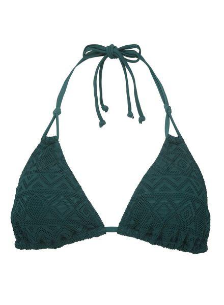 dames driehoek bikinitop padded groen groen - 1000011891 - HEMA