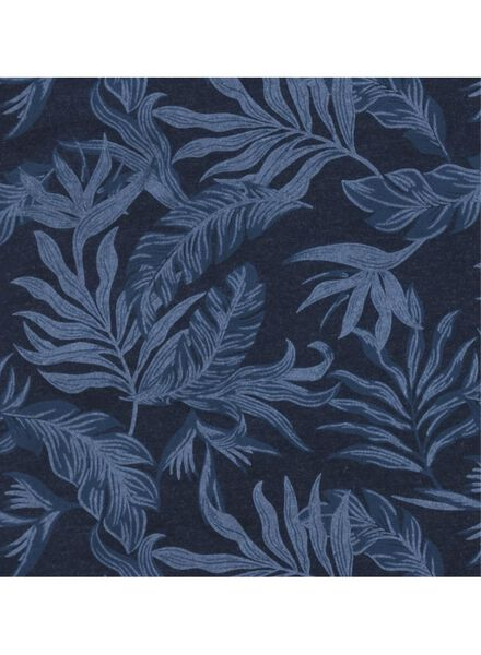 heren t-shirt blauw blauw - 1000011840 - HEMA