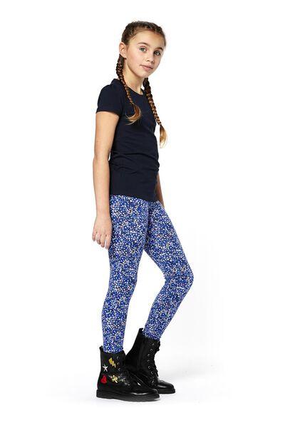 kinder t-shirt donkerblauw 158/164 - 30843963 - HEMA