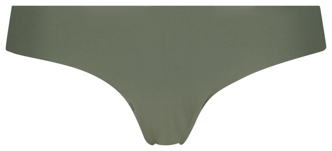 HEMA Damesstring Kant Micro Groen (groen)