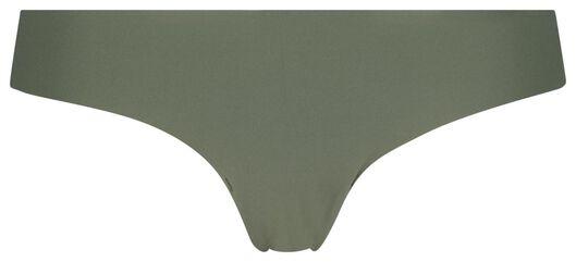 damesstring kant micro groen groen - 1000020782 - HEMA