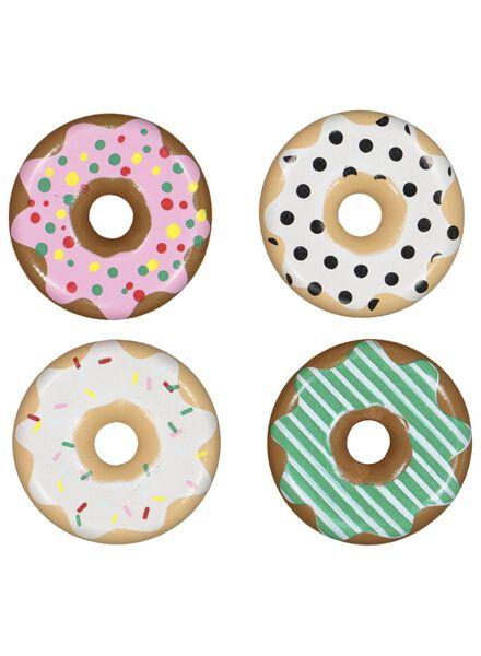 houten donuts set - 15190293 - HEMA