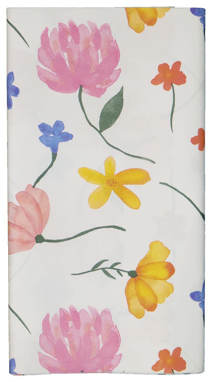 HEMA Tafelkleed 138x220 Papier Bloemen