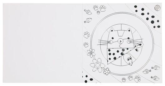zilverkleurige kleurboek - 15950041 - HEMA