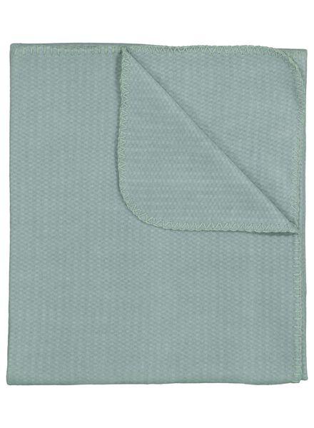 plaid - fleece - 130 x 150 - groen - 7392001 - HEMA