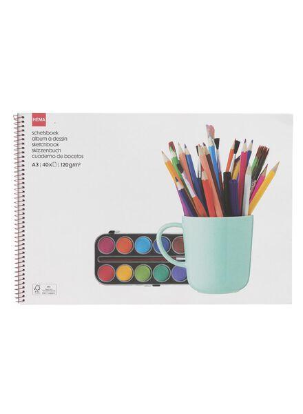 schetsboek A3 - 15950010 - HEMA