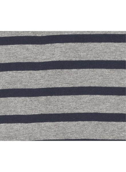 heren t-shirt grijsmelange - 1000009022 - HEMA