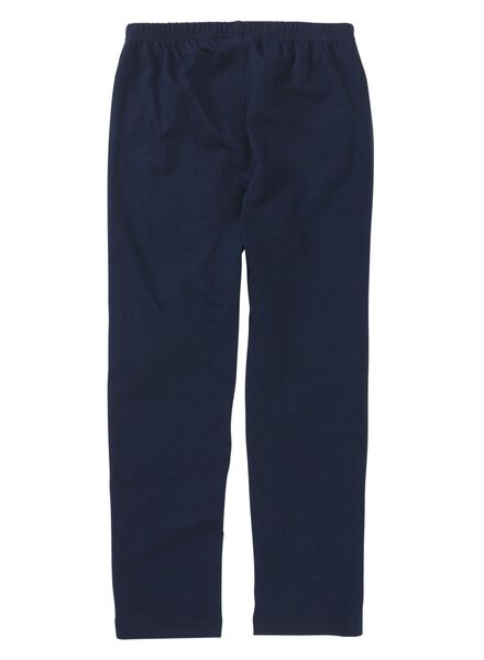 kinderpyjama donkerblauw donkerblauw - 1000012214 - HEMA