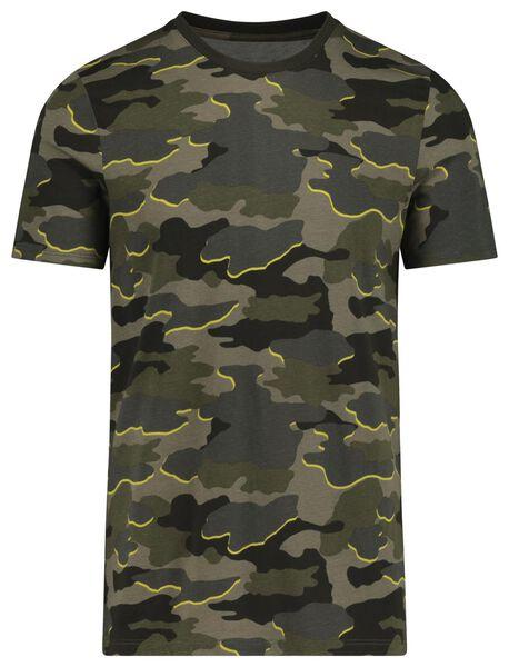 t-shirt voor volwassenen mini-me groen groen - 1000019590 - HEMA