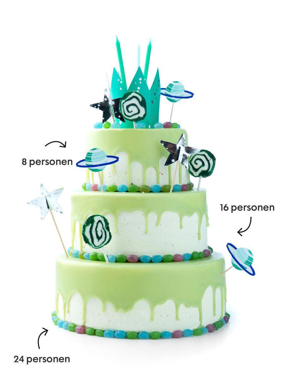 Groovy Dripcake Red Velvet Groen 24 P Hema Personalised Birthday Cards Sponlily Jamesorg