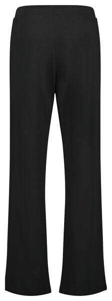 dames pyjamabroek zwart zwart - 1000022617 - HEMA