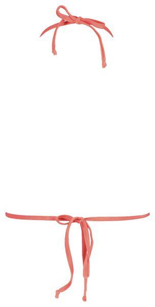 dames padded triangle bikinitop rood rood - 1000017939 - HEMA