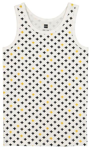 2-pak kinderhemden met bamboe - wasbeer grijsmelange grijsmelange - 1000021052 - HEMA