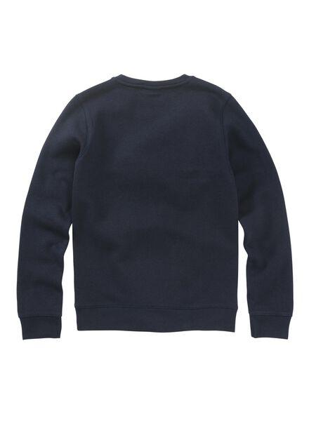 kindersweater donkerblauw donkerblauw - 1000011039 - HEMA