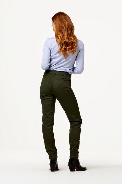 dames t-shirt boothals lichtblauw M - 36248062 - HEMA