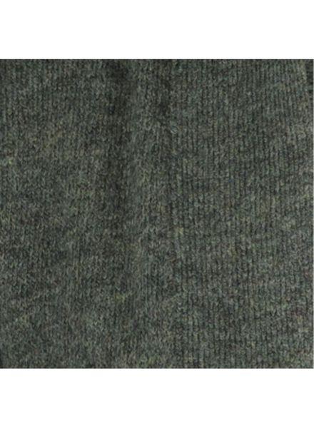 damesvest gebreid donkergroen donkergroen - 1000014791 - HEMA