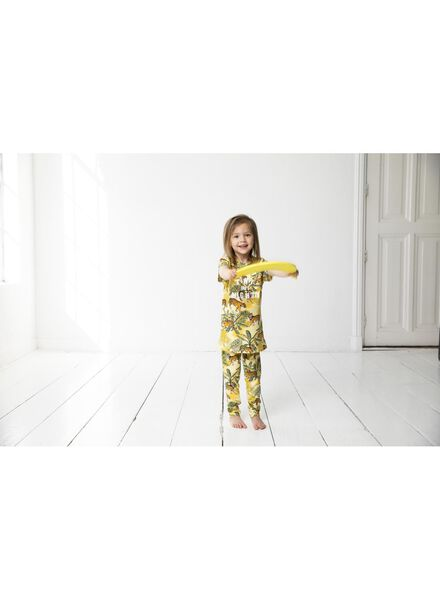 kinder t-shirt - Bananas&Bananas geel 86/92 - 30840844 - HEMA
