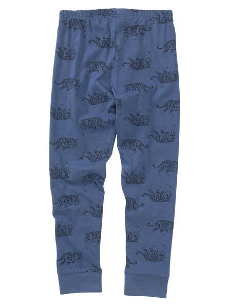 kinderpyjama donkerblauw donkerblauw - 1000011771 - HEMA