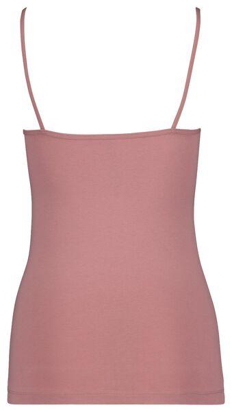 dameshemd spaghettibandjes roze roze - 1000018549 - HEMA
