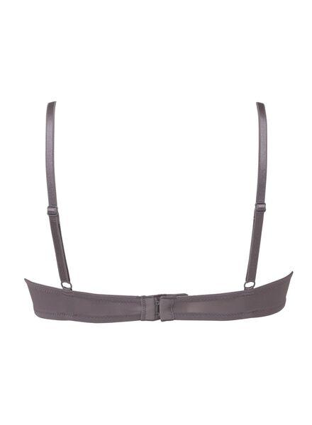 2-pak padded t-shirt bh's A-D grijs grijs - 1000002475 - HEMA