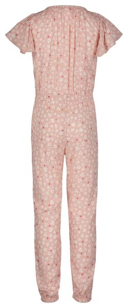 kinderjumpsuit bloem roze 122/128 - 30881270 - HEMA
