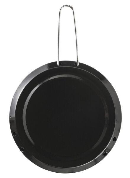 HEMA Sudderplaatje Ø16cm Metaal (zwart)