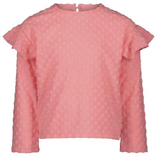 kinder t-shirt stippen roze roze - 1000020532 - HEMA