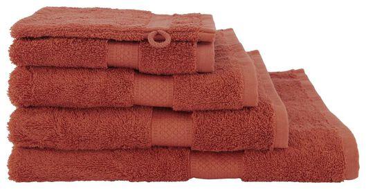 handdoeken - zware kwaliteit terra terra - 1000020022 - HEMA