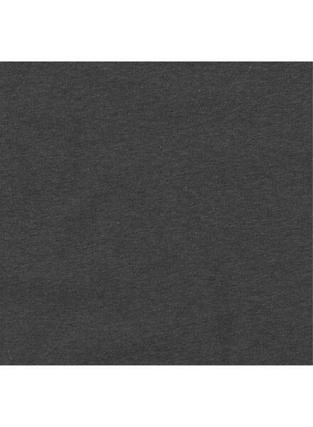 heren t-shirt grijsmelange grijsmelange - 1000011529 - HEMA