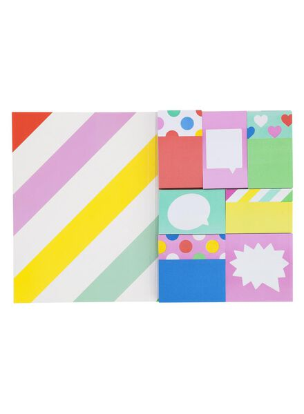 7-pak sticky notes - 14540722 - HEMA